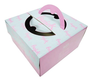 Exquisite cake box /Happy birthday cake box