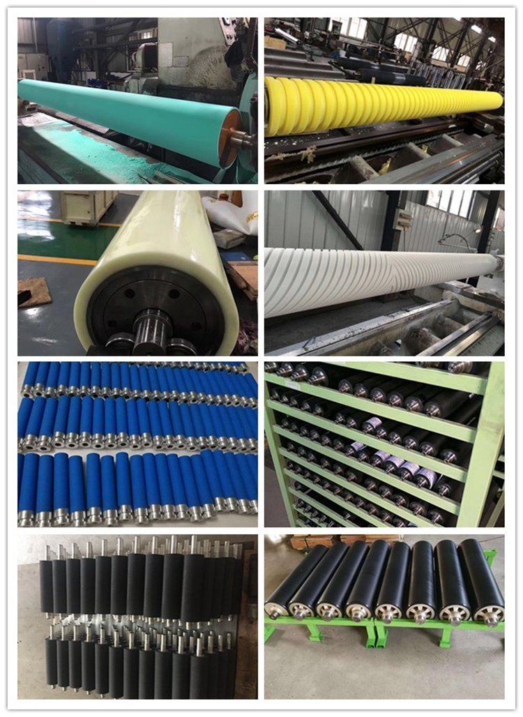 Rubber roller for printing press in printing machinery parts