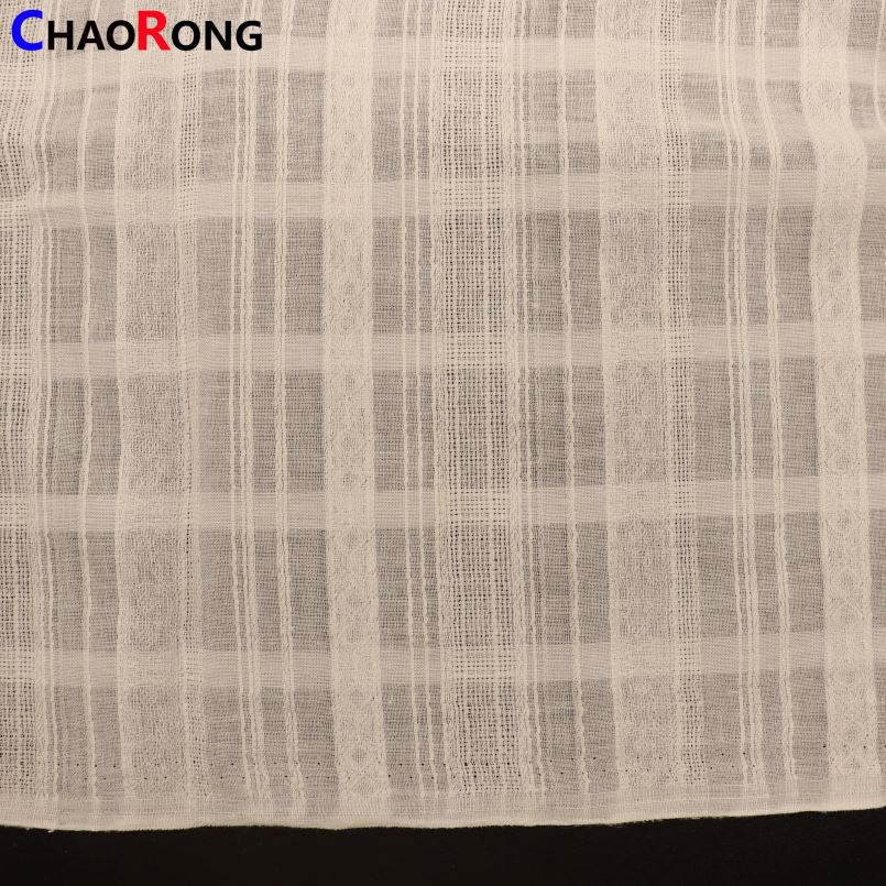CRF1810 Brand New Voile Lace Cotton Fabric With High Quality