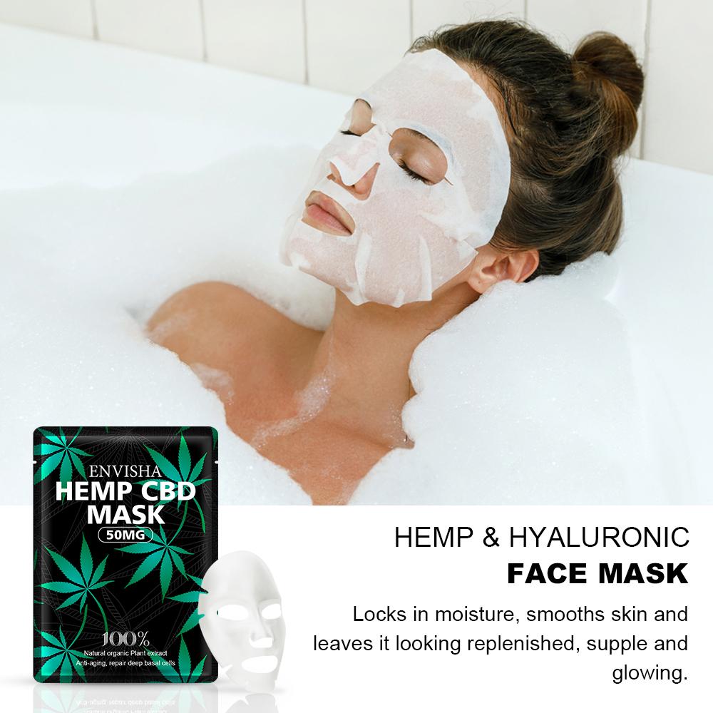 DrBaked: ENVISHA Face Mask 50mg Hemp CBD