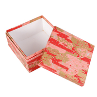 Luxury Chinese Style Cardboard Paper Packaging Box Square Surprise Gift Box