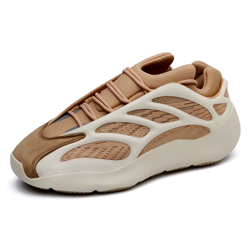 New Trend Dark Night Shiny Light Weight Fashion Yeezy Shoes 700 V3 Men Sneaker