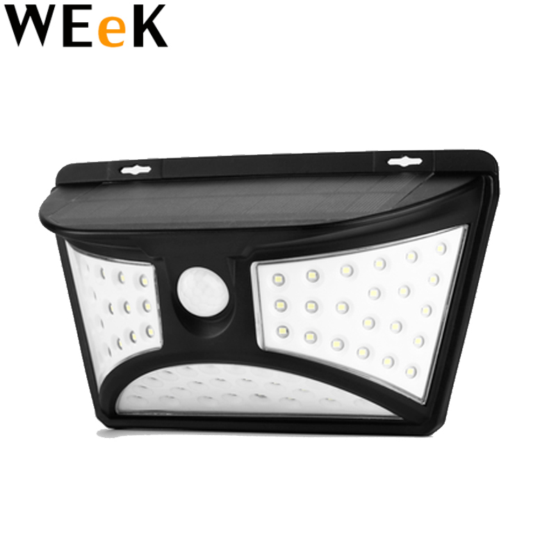 68 LEDs Solar Lamp Sun Power Wall Lights PIR Sensor Light Waterproof Outdoor Solar Garden Lights for Industrial Lighting