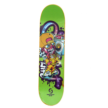 Customized Graphic Top Qualität Epoxy Harz Stained Lange Bord Kanadischen <span class=keywords><strong>Ahorn</strong></span> 7 ply <span class=keywords><strong>Skateboard</strong></span> Deck Groß