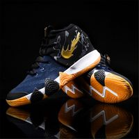 Men Kyrie Basketball Shoes Breathable Shockproof High Top Sneakers Cushioning Basketball Sneakers Outdoor Training Ankle Boots
