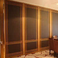 Chipboard partition aluminium partition wall board commercial decorative movable partition