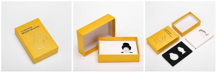 Custom Lift-off Rigid Gift Packaging Solid Cardboard Material Thick Paperboard Top Lid and Bottom Box