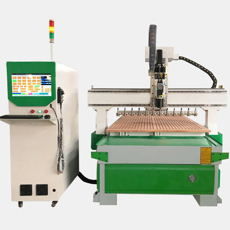 KuiKe Plaat snijmachine 1325 ATC hout cnc router carving machine