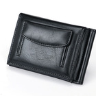 Fashionable Custom Genuine Leather Credit Card Wallet For Man