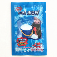 man made instant fake snow for christmas decorations
