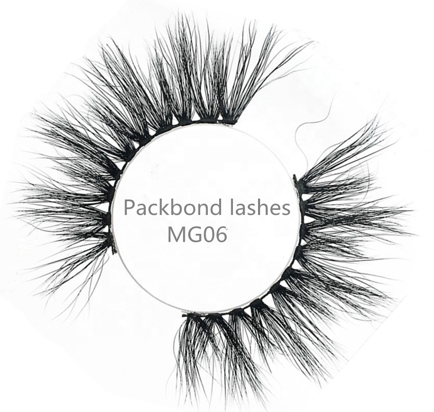 Big Lashes 25mm Mink Eyelashes 22mm Long Fluffy Lashes фото