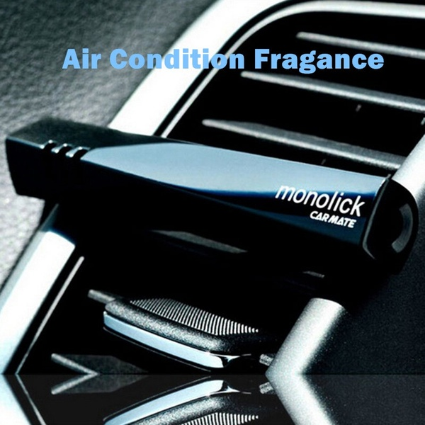2019 new mini Car Air Fresher Fragrance Holder Unique Plastic Eco-Friendly Car Vent Air Freshener