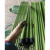 flower color pvc coated wood broom stick with 22 mm diameter