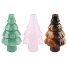 Crystal Christmas Gift 2020 Ideas Natural Healing Crystal Quartz Stone Mini Christmas Tree For Home Decoration