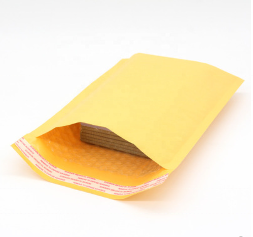Factory Custom Quality Air Padded Envelope Bubble Mailing Bag Poly Kraft Bubble Mailer