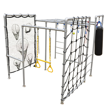 Outdoor 8 In 1 Multi-functional GYM Fitness Monkey Bar for Kids