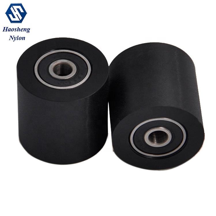 Procesamiento personalizado ruedas de nylon resistente al desgaste de las ruedas de nylon anti-envejecimiento ruedas de nylon precio de procesamiento