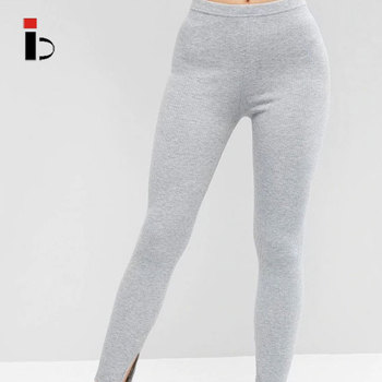 OEM custom full length knitted gym women carpi leggings