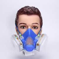 720D Face Painting Protection Breathing For Spray Paint Full Face Respirator Safety Gas Mask