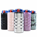 Bottle Cooler 12 Oz Bottle Cooler 3 In 1 Triple Insulated Double Walled 304 Stainless Steel 12 Oz Slim Beverage Can Beer Bottle Cooler Holder