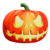 "New Halloween gift party supply soft stuffed fluffy orange pumpkin plush toys 8"" LED Glow"