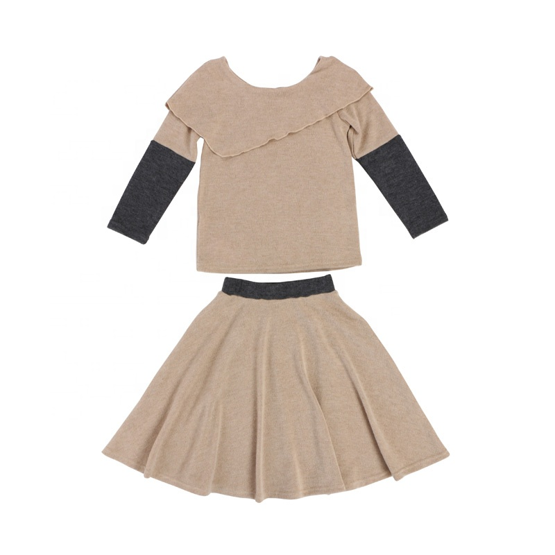 2019 Bulk baby clothes girls outfit top legging set fashion kids clothing