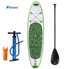 High Quality Durable Pre Laminated Double Layer Drop Stitch Fusion Material inflatable Sup ISUP inflatable Stand Up Paddleboard