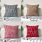 Cover Nordic Ins Style Cotton And Linen Line Geometric Pillow Cover Modern Simple B B Style Sofa Pillow Case Cushion Cover