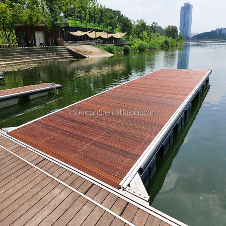 float dock , floating pontoons dock , floating yacht wharf marina water platform design
