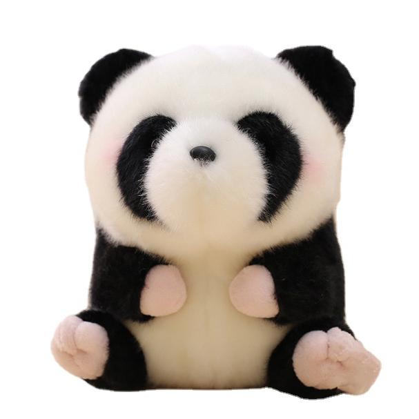 2020 Promotion High Quality Cute Amazon Giant Panda Plush Toy Stuffed Animal Panda Bear Soft Toys for Baby Kids