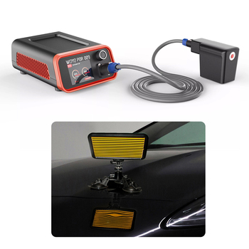 WOYO PDR009 1500W Dent Removal/repair machine dent detector lamp board tool set hot box pdr for aluminum body