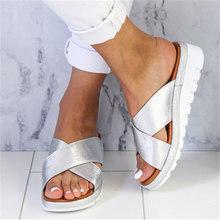 Новинка 2020 года; Пляжные шлепанцы; Сезон весна-лето; Женские сандалии; Модные однотонные туфли; Размеры 35-43(Китай)