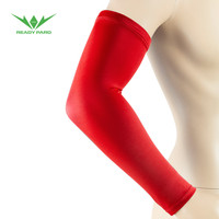sport sleeve compression nylon arm sleeve low MOQ USA market arm sleeve with printing logo