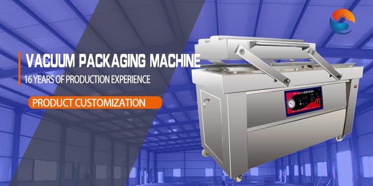 Horizontal pouch vaccum vacuum sealer packing_machine