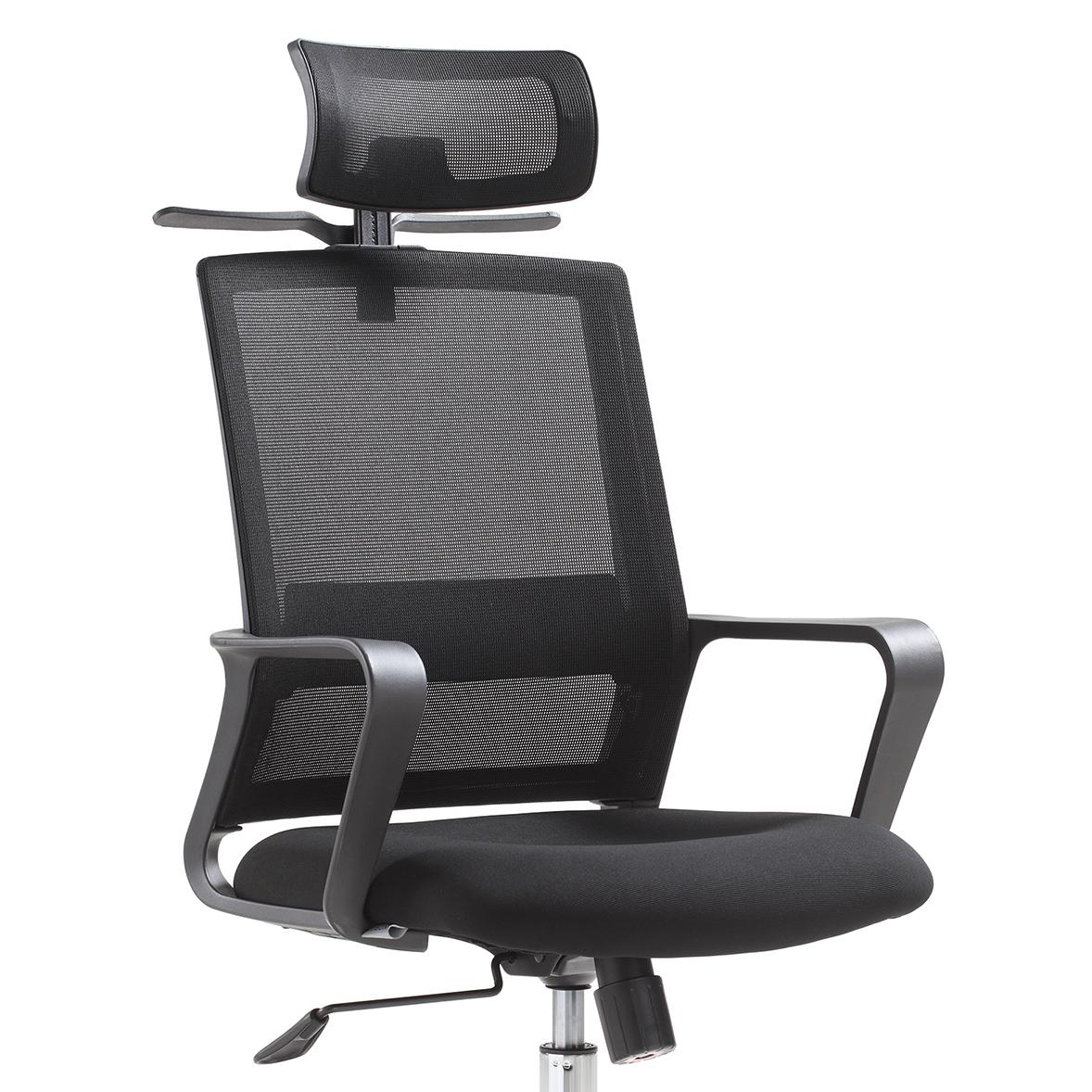 Locking wheel Unique design Modern multifunctional adjustable metal office chair