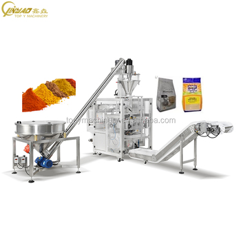 Full Automatic Spices Milk Detergent Powder Filling Packing Machine
