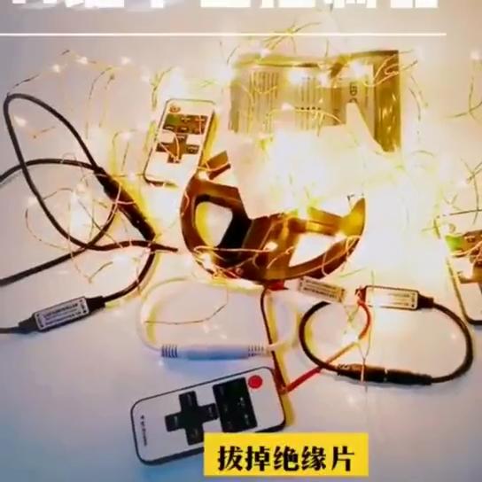 5050 3528 Luz de tira llevada 2835 Kit de Dimmer interruptor regulador Mini Single Color 11 clave RF controlador