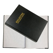 Nieuwe Ontwerp Kantoorbenodigdheden Custom 20x30 cm 5x5mm Squared Hardcover Notebook <span class=keywords><strong>Register</strong></span> 400 Pagina 'S