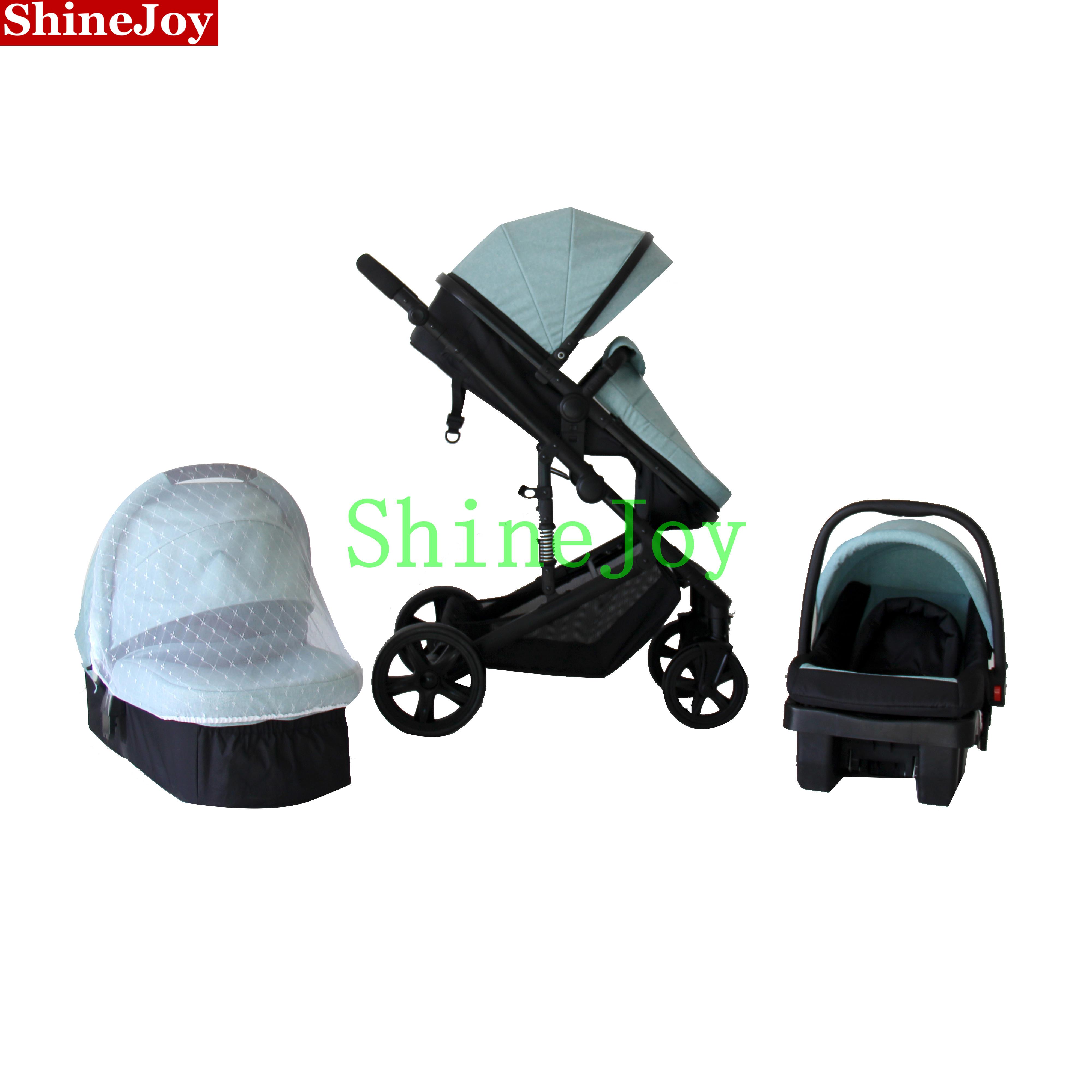 Hohe Qualität Günstige 4 in 1 city select kinderwagen baby jogger Stubenwagen Pram Kinderwagen Mit Auto Sitz
