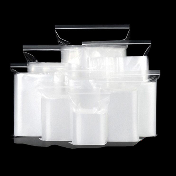 Reclosable clear Zip Lock Plastic Bag  Poly Plastic Bags for Jewelry or candy Zipper Bag for snacks