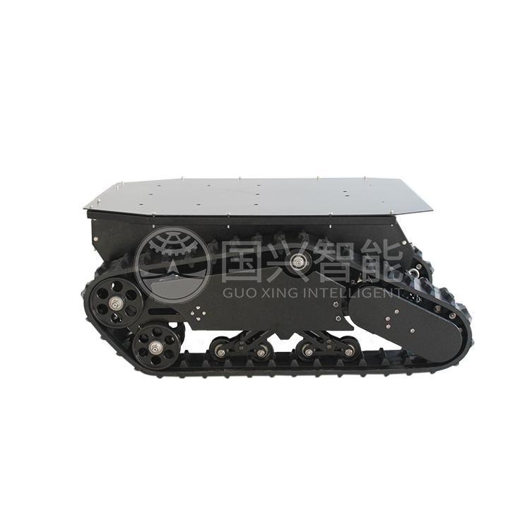 Safari 880T enhance rubber track robot security robot patrol