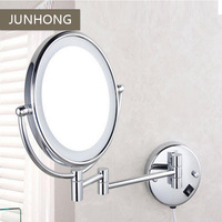 Stainless steel Chromed LED bathroom mirror cosmetic mirror