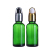 Wholesale blue glass dropper bottle 30ml for essential oil bottle