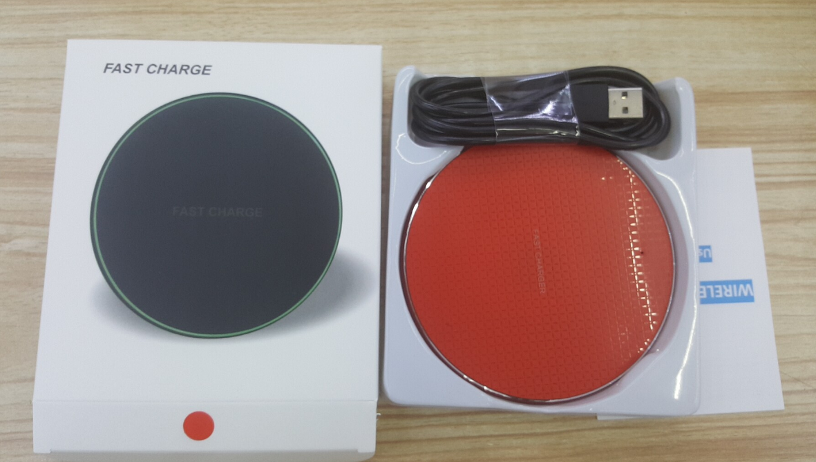 Best Seller 10W Portable Fast Charging Wireless Charger Pad