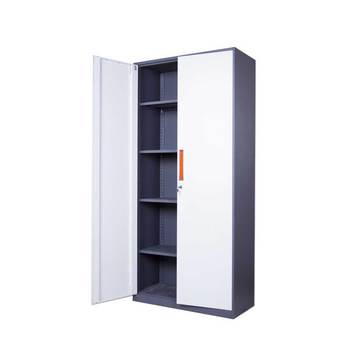 Factory price high quality steel office furniture industrial metal storage cabinets / two-door cabinet