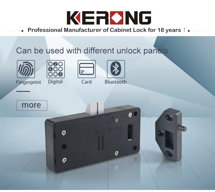 KERONG Smart e locker APP Bluetooth Rfid Card Lock for drawer cabinet boxes