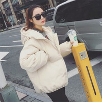 2019 Korean style new women wadded jacket student ladies winter clothes
