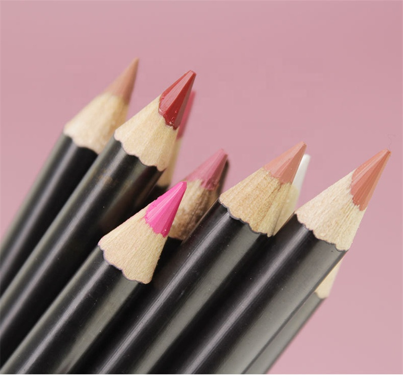 2019 Wholesale Custom Private Label 16 Colors Long Lasting Lip Pencil Soft And Creamy Lip Liner