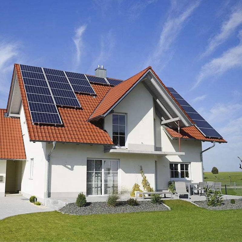 Легкая установка 4 кВт решетки Солнечной системы с батареей