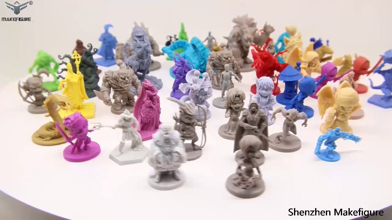 Custom Made 3-8Cm Pvc Miniatuur Game Beeldjes, Aanpassen Midden Agens Soldeer Pvc Model Figuur, 3D Plastic Menselijk Miniatuur